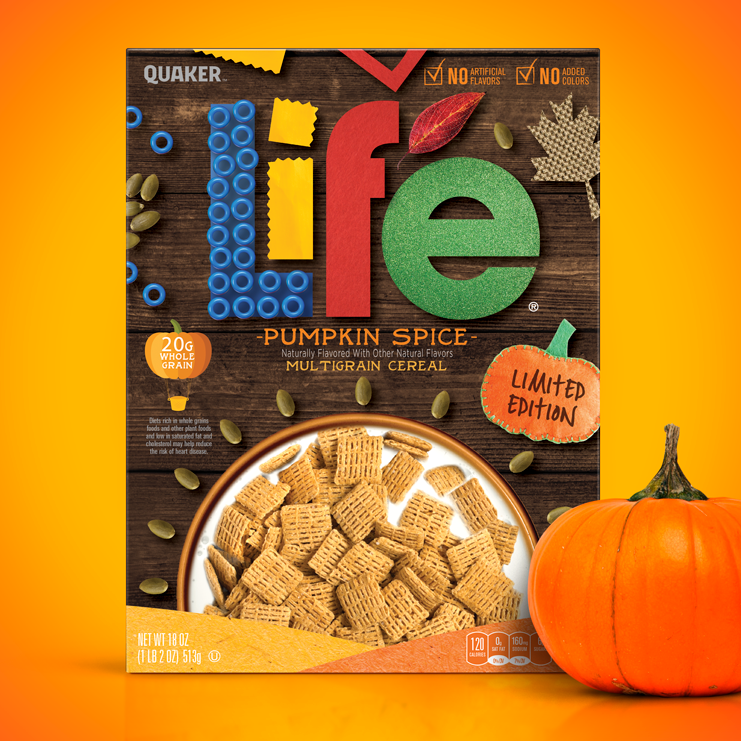 Life cereal design concept  (case study on front page) I was given the logo (flat) and the bowl, the rest was up to me! For Pepsico @Hauggard