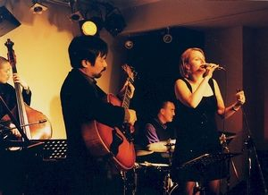 Touring Japan 2001 with Satoshi Inoue, Kiyoshi Kitagawa and Akira Tana