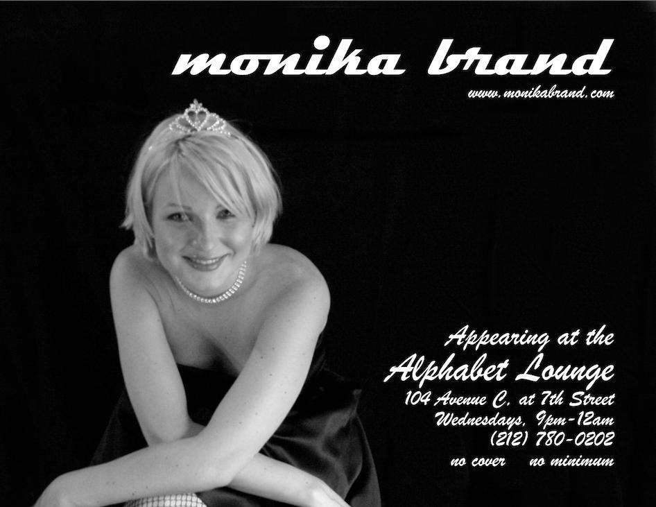 Alphabet Lounge Flyer 2002