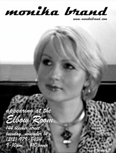Elbow Room Flyer 2002