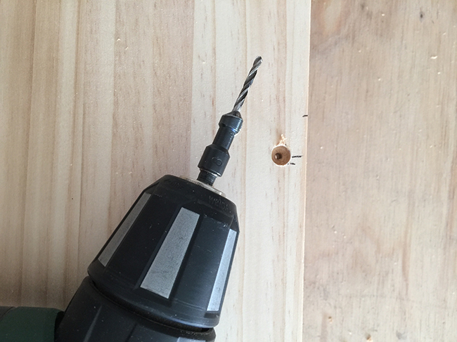 5 Countersink pilot holes for the box.jpg