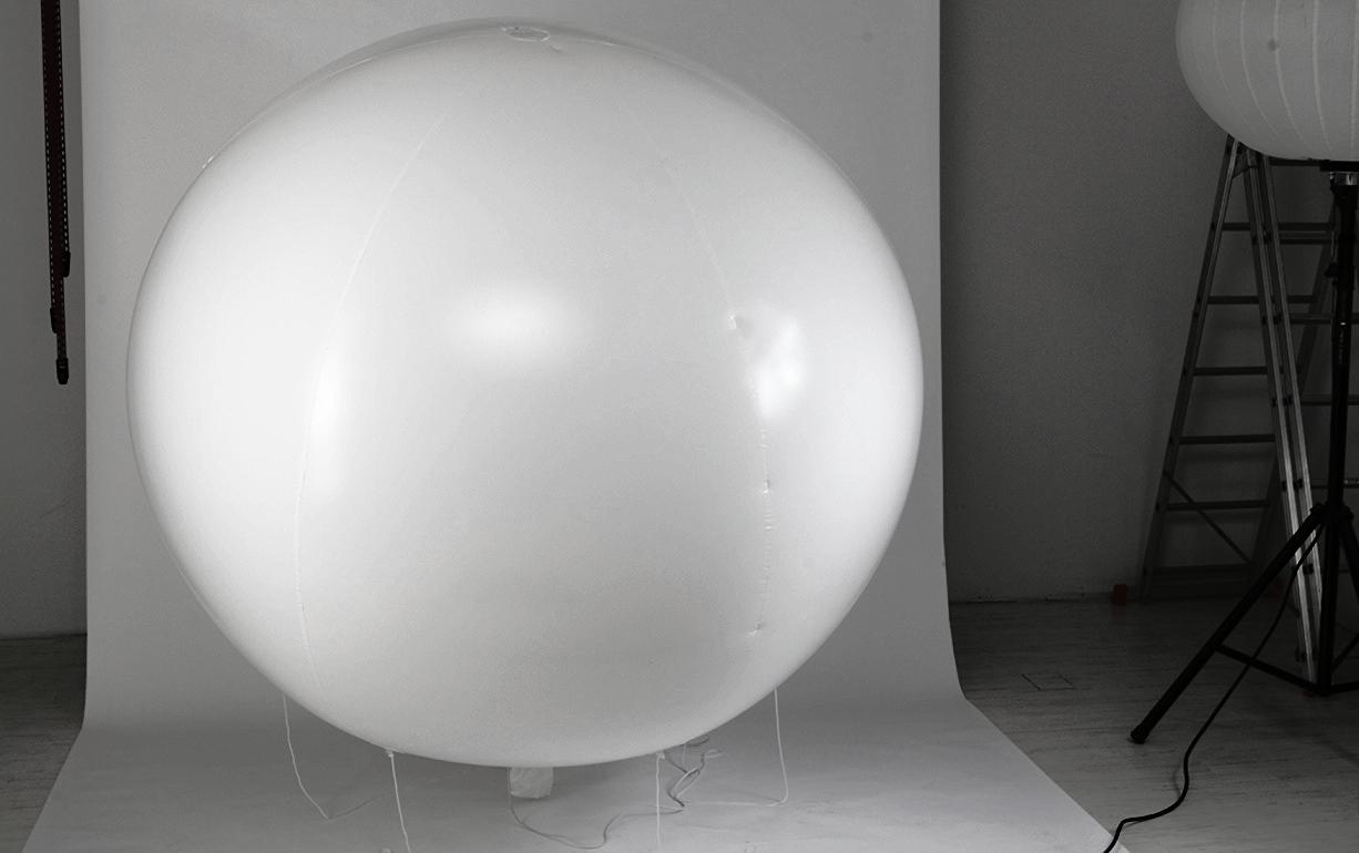 "HE4000 customised ""He balloonlamp"""
