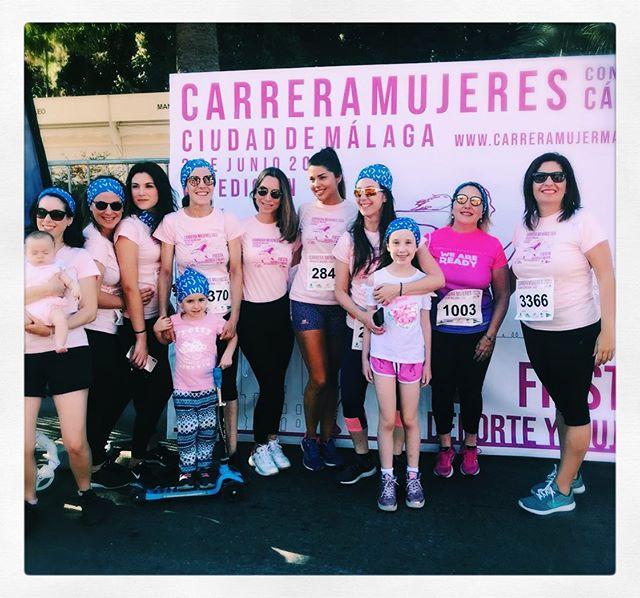 💓🙌🏻🙌🏻💪💪Gran implicación de @iviclinics Málaga en la carrera 💪💪🙌🏻🙌🏻💓#carreradelamujer #NoTeRindas #mujeresvalientes 💕💕#womenempowerment #carreramujerescontraelcancer #luchadoras #ivimálaga #málaga