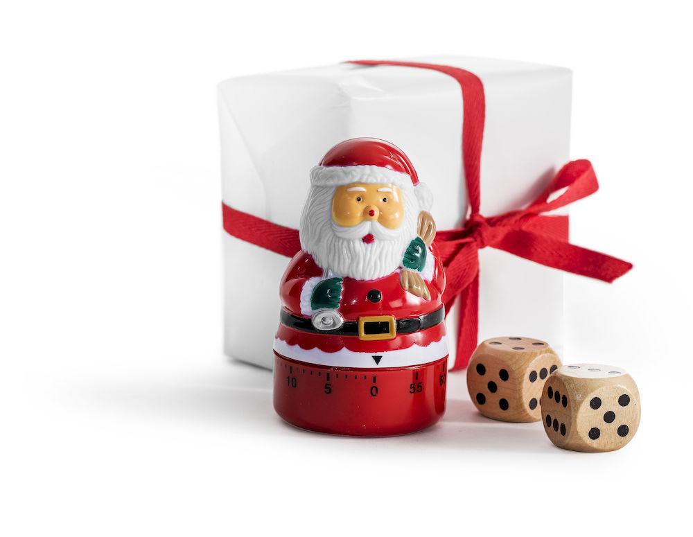 Spill - Winter julesett. Familiespill med terning, tidtagerur og regler. Fra Sagaform99,-