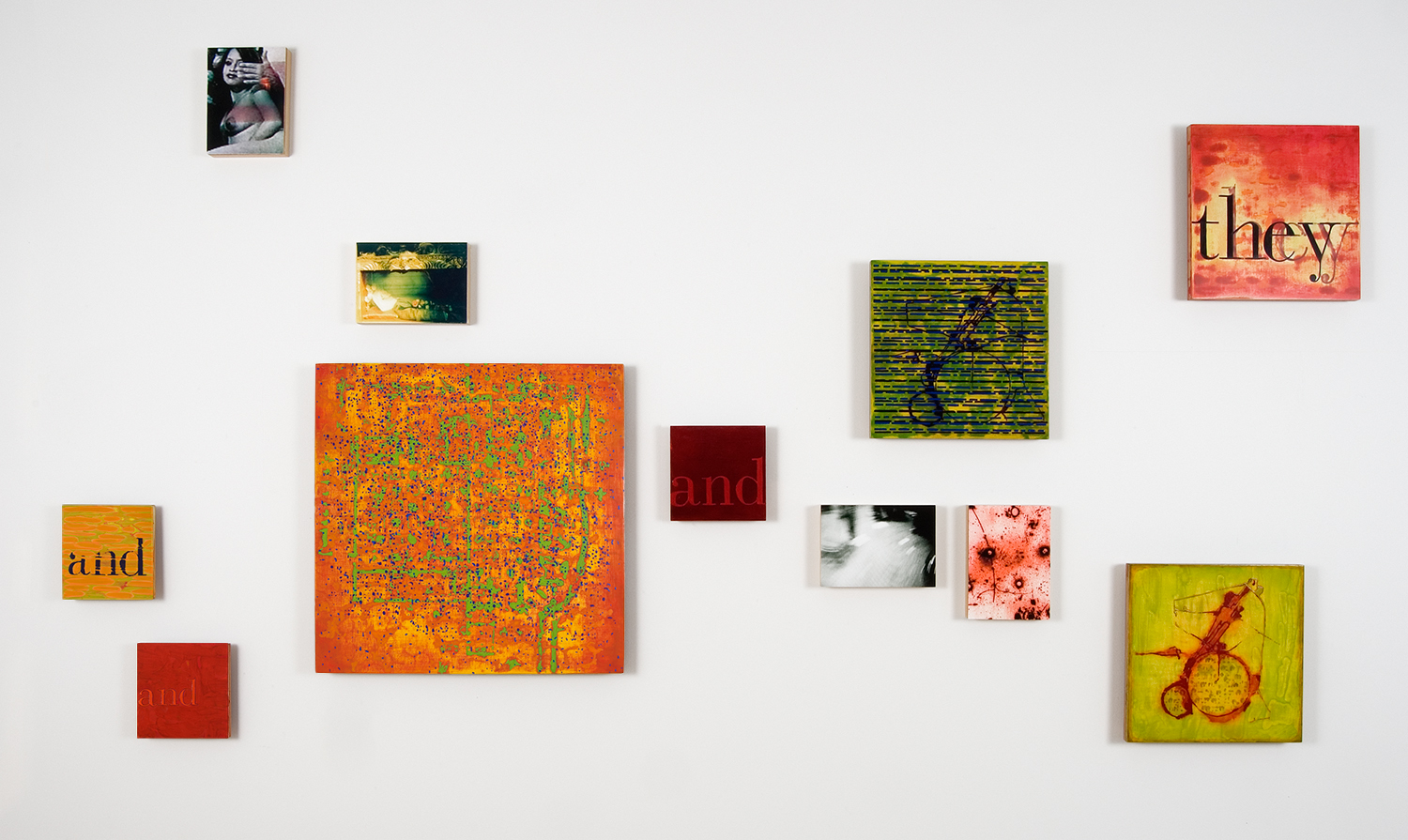and they are designed from the first with an eye to their later existence as ruins , 2008-09, oil and archival inkjet on 47 panels, dimensions variable. Part 1