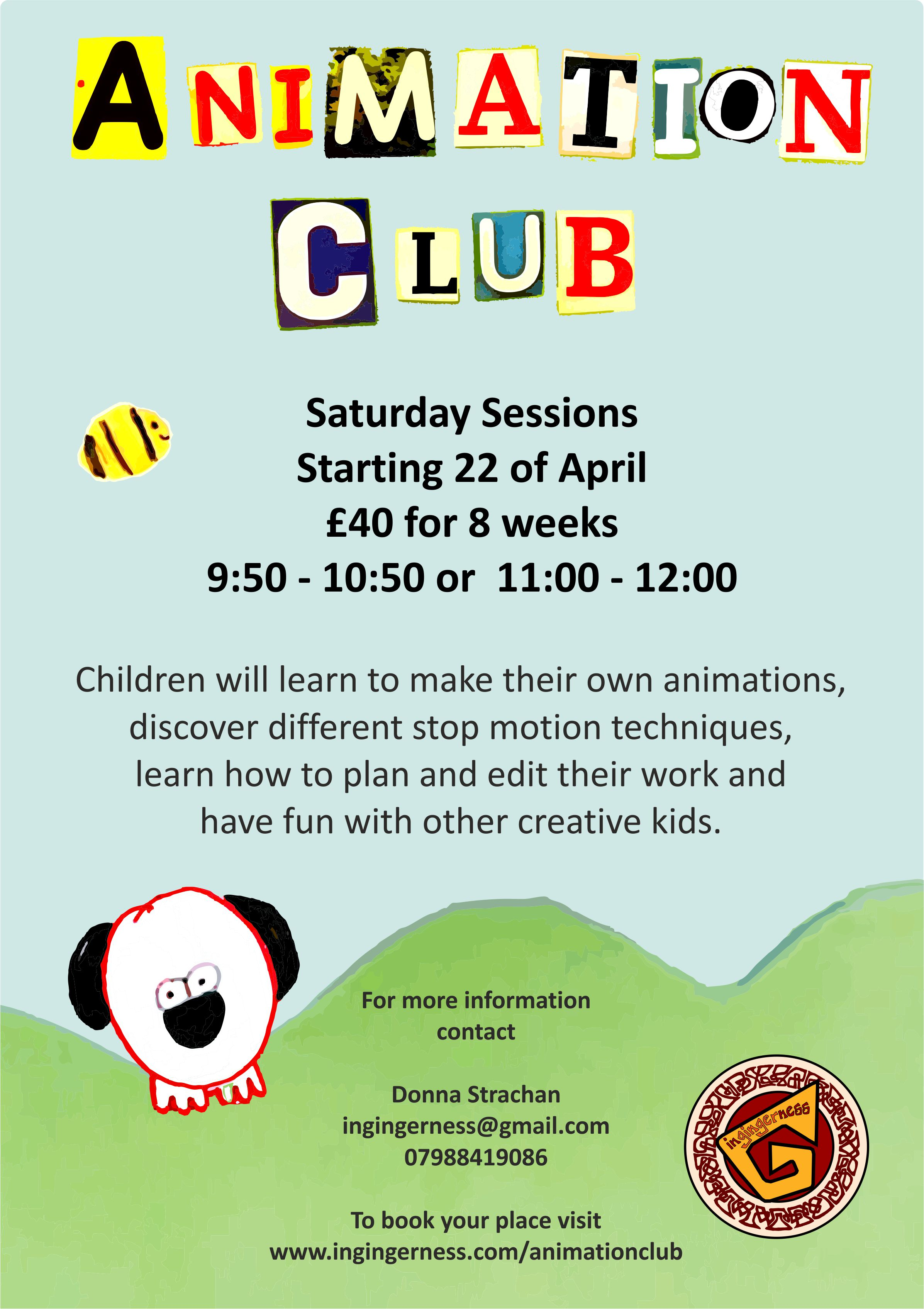 Creative clubs and activities for children in Midlothian