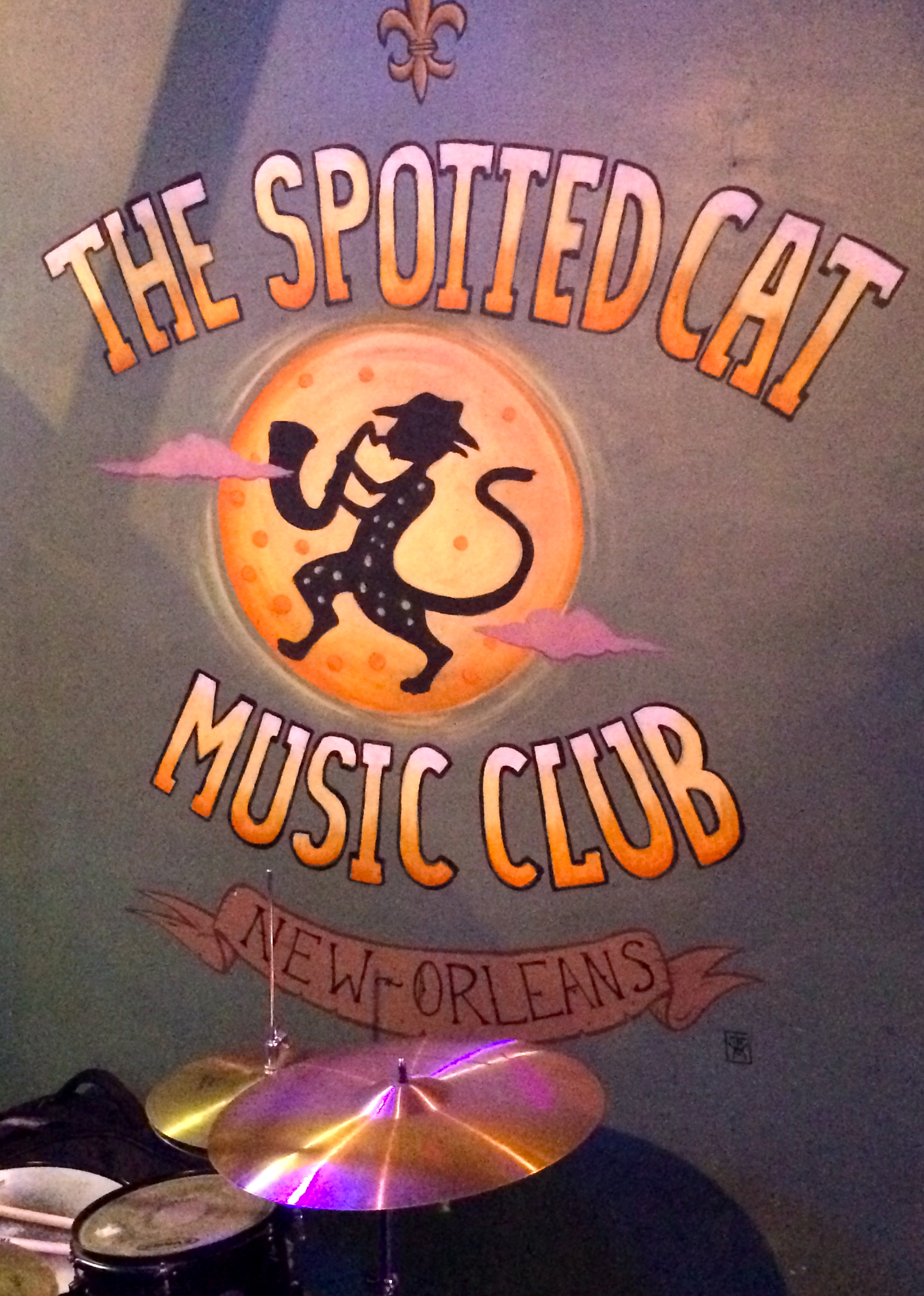 The Spotted Cat - Frenchmen Street.