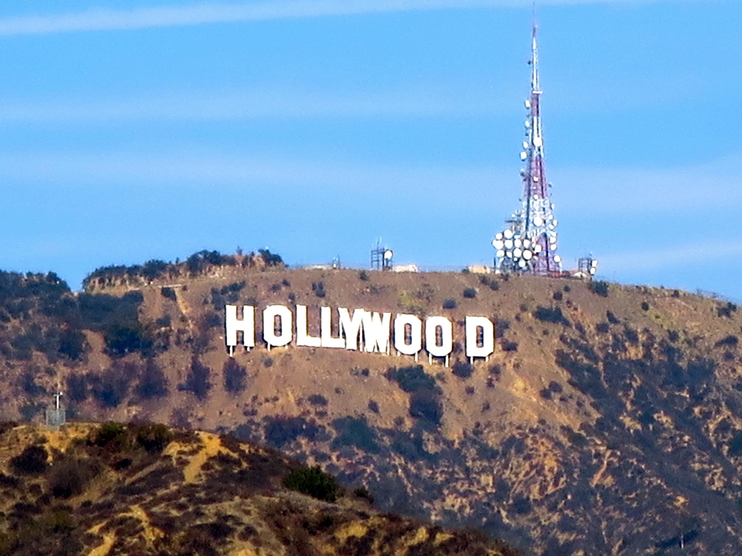 The obligatory Hollywood sign pic!