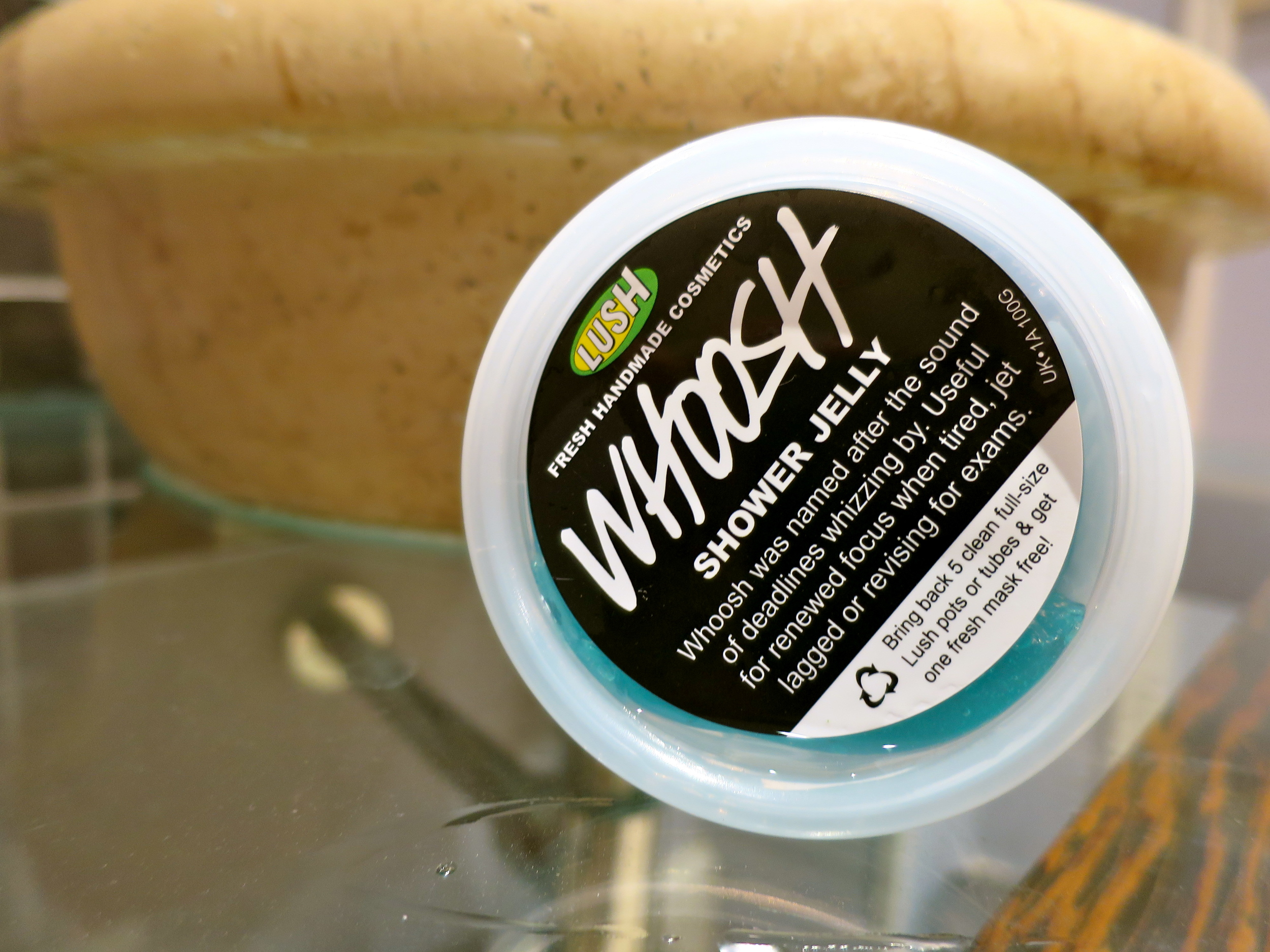 Lush Whoosh Shower Jelly.