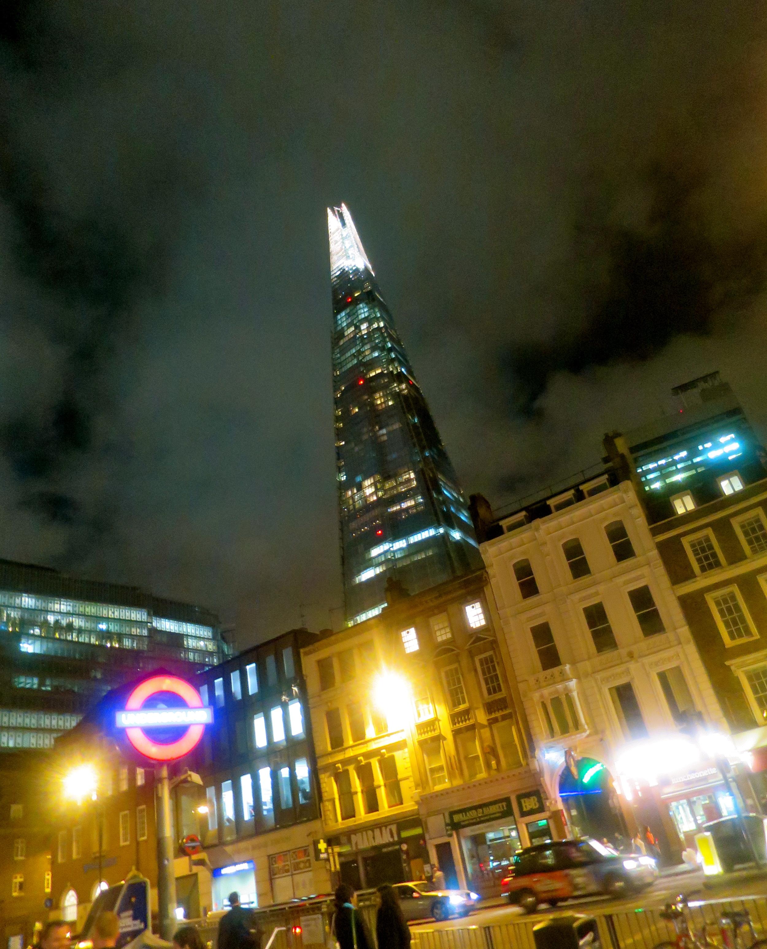 Luminous London.