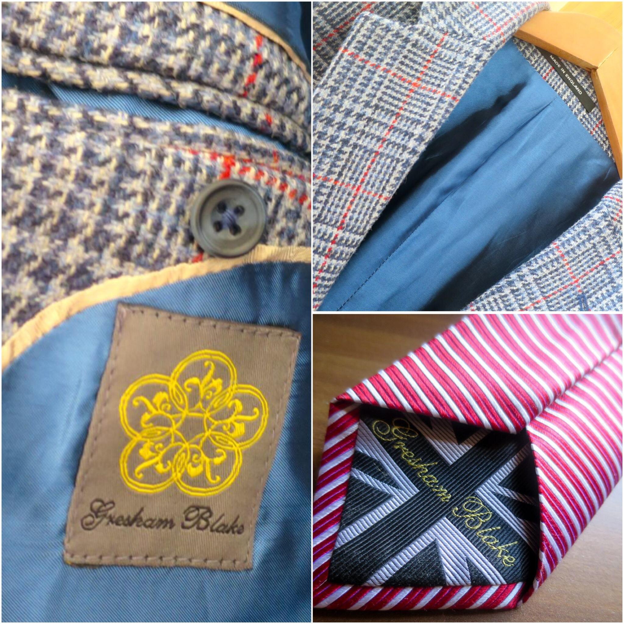Creative tailoring and tweeds.