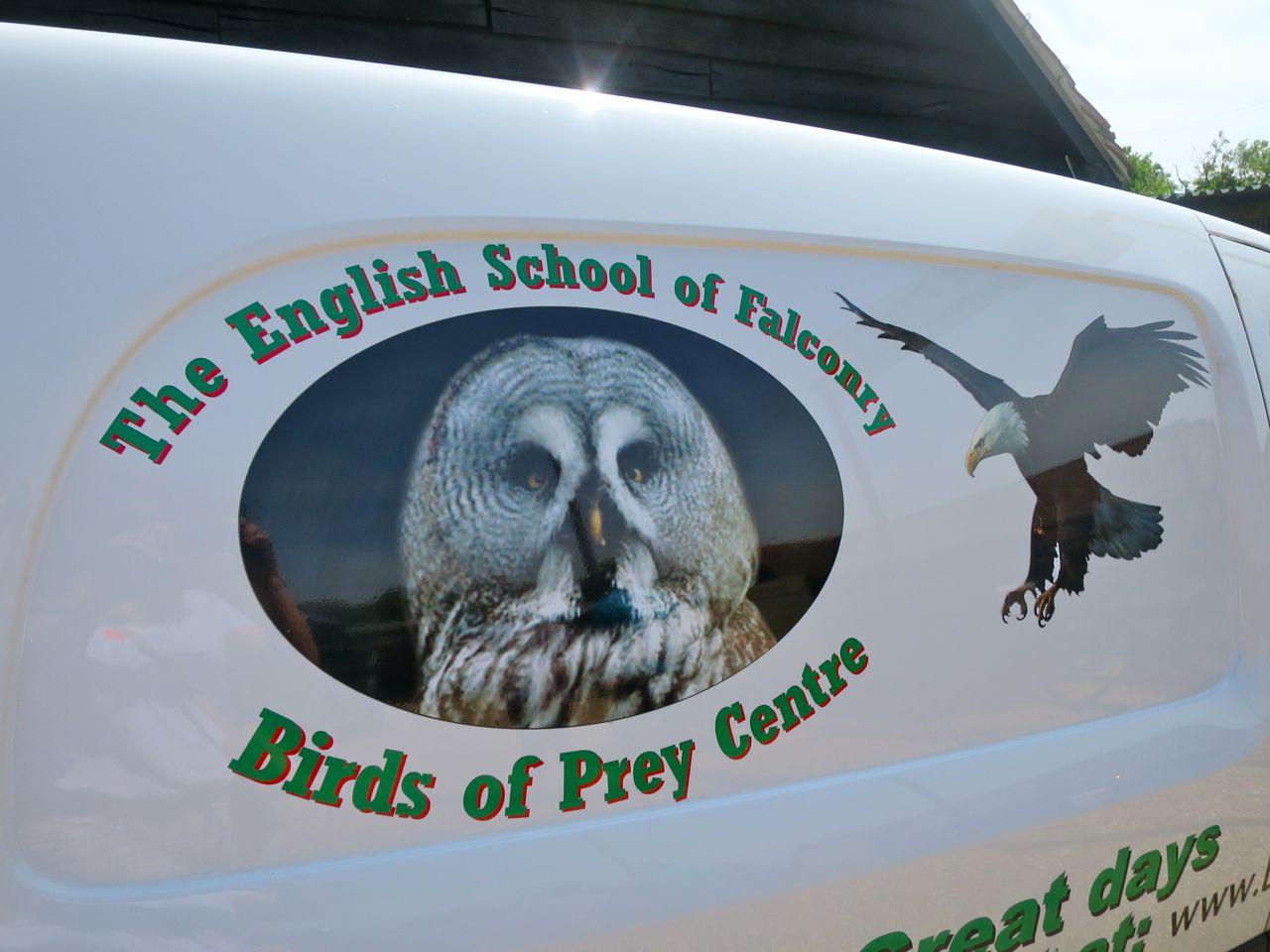 The English School of Falconry.