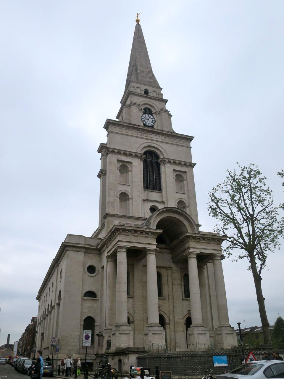 Nicholas Hawksmoor's Christ Church Spitalfields.