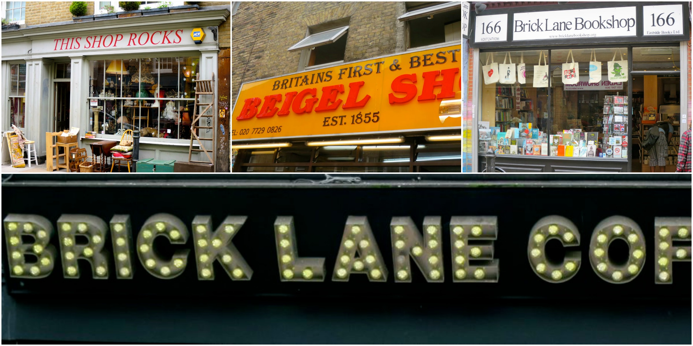Lively Brick Lane.