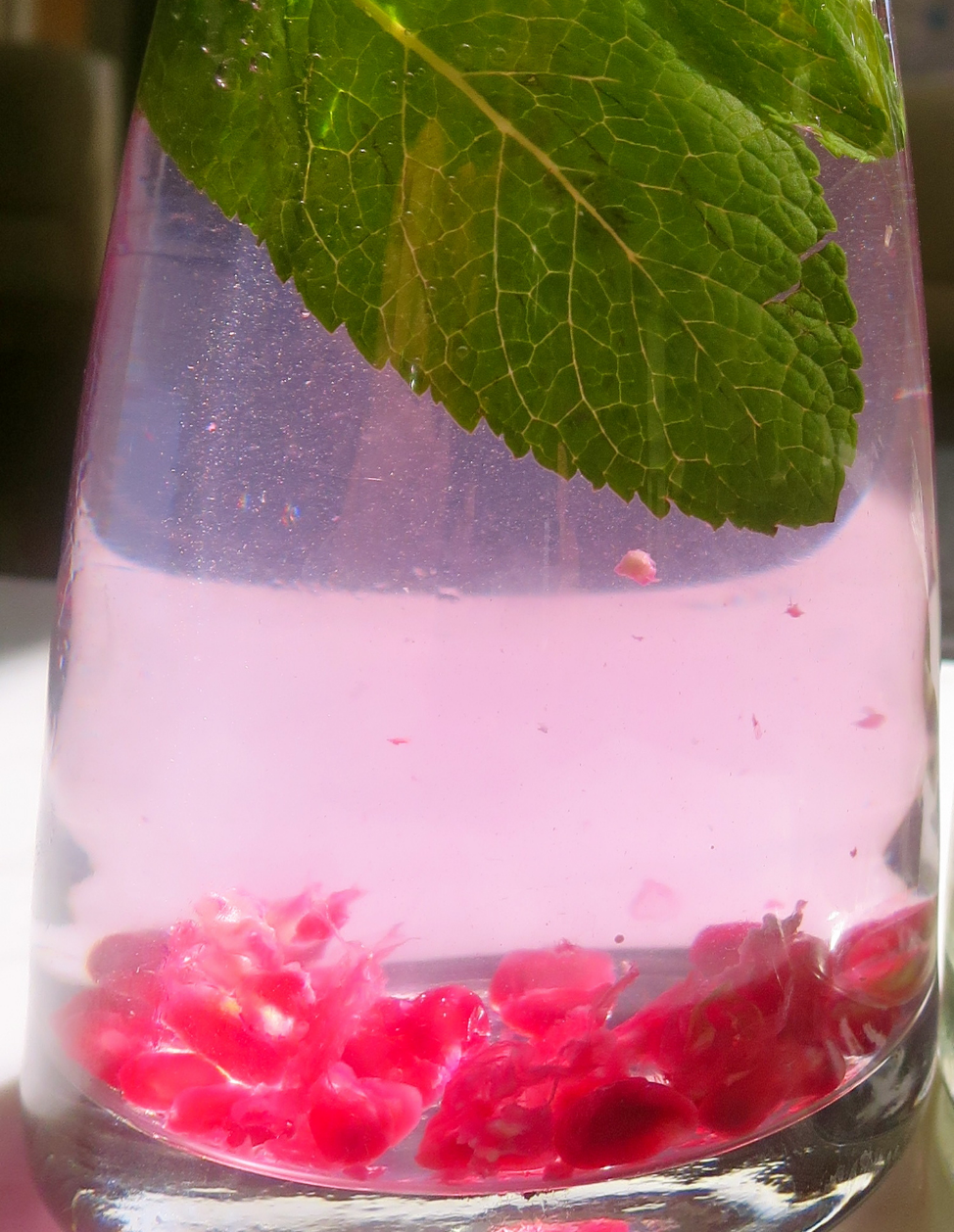 Pomegranate and Mint.