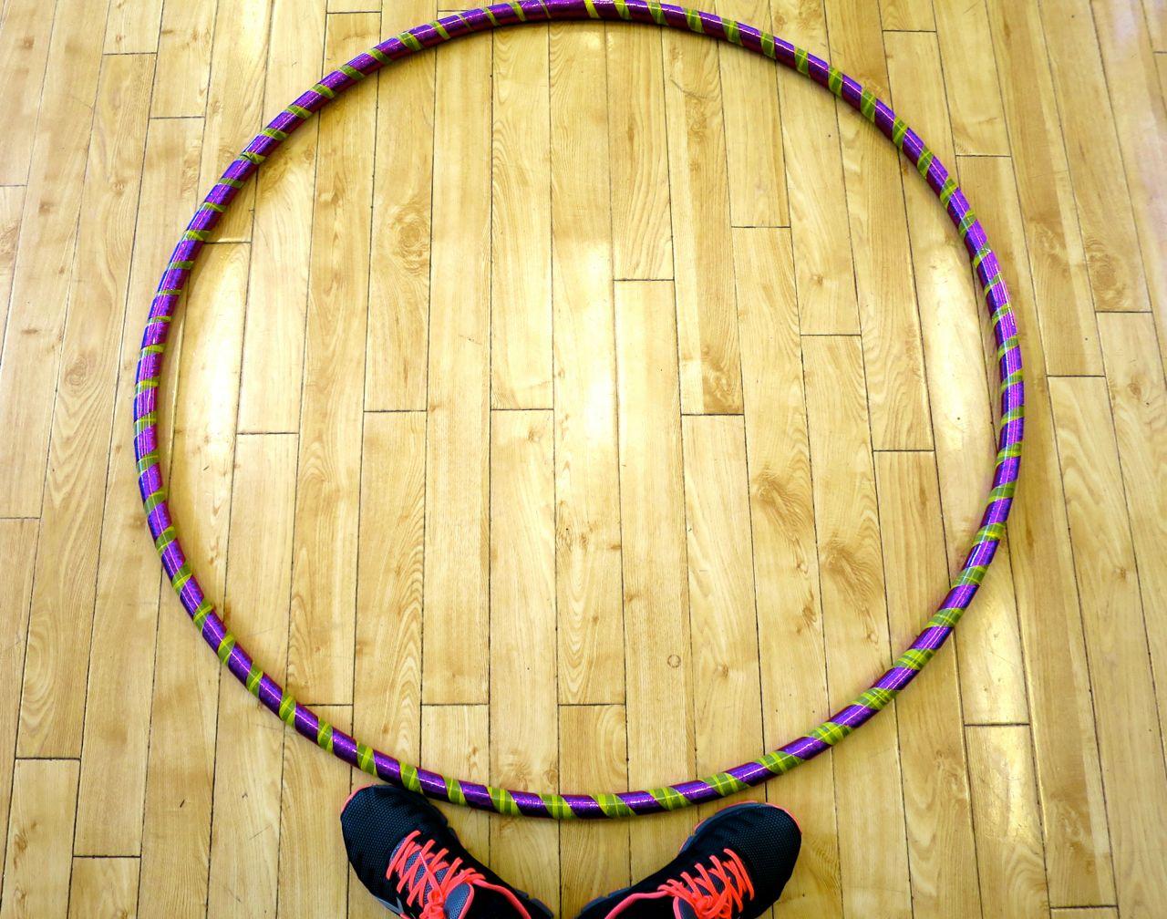 Finished Hula Hoop