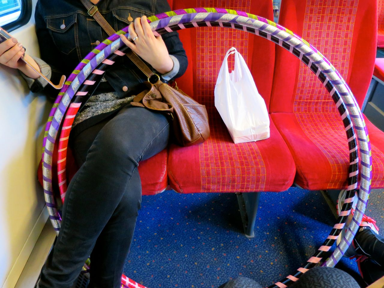 Hoops On The Train