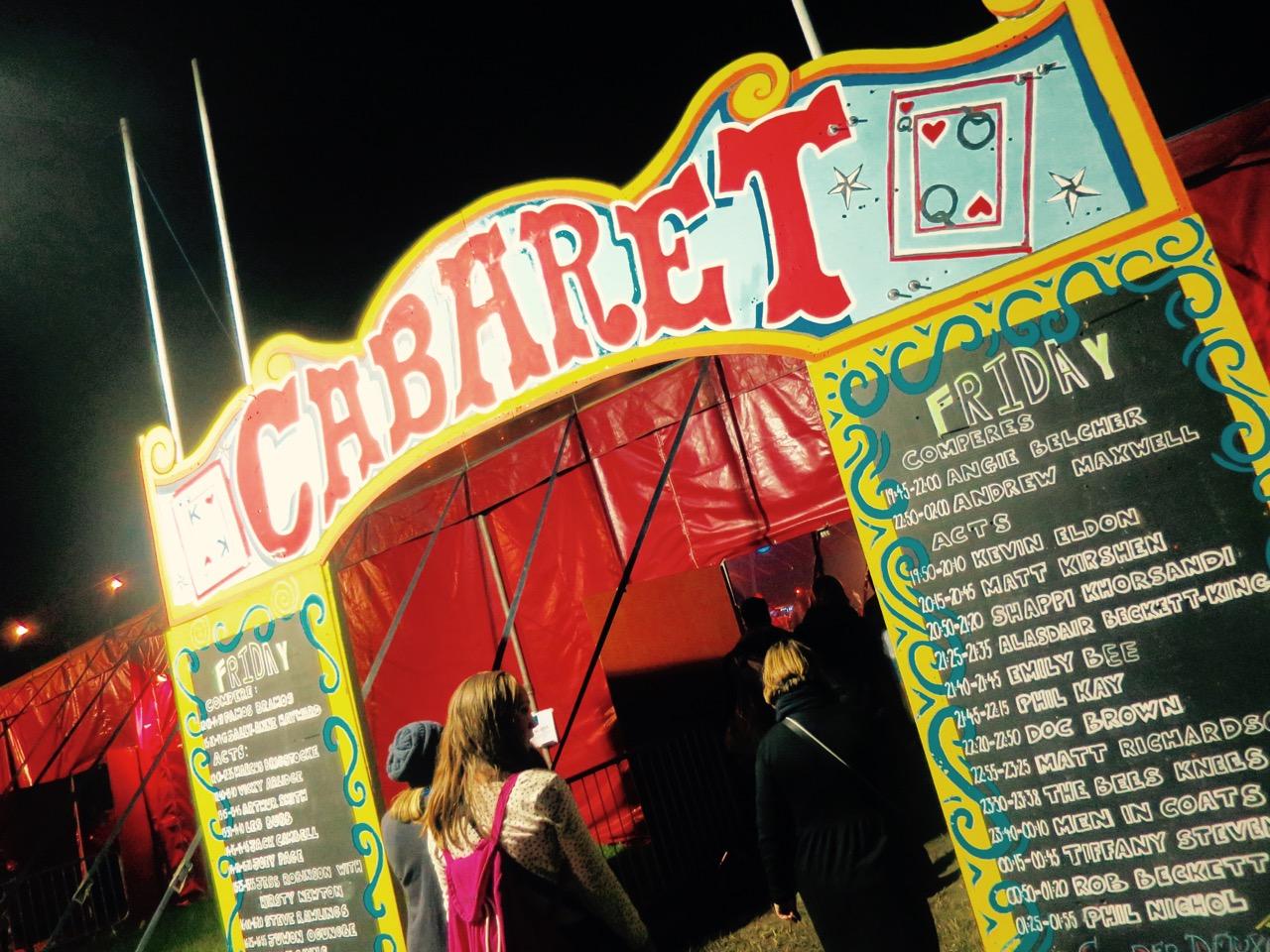 Glastonbury Cabaret Tent