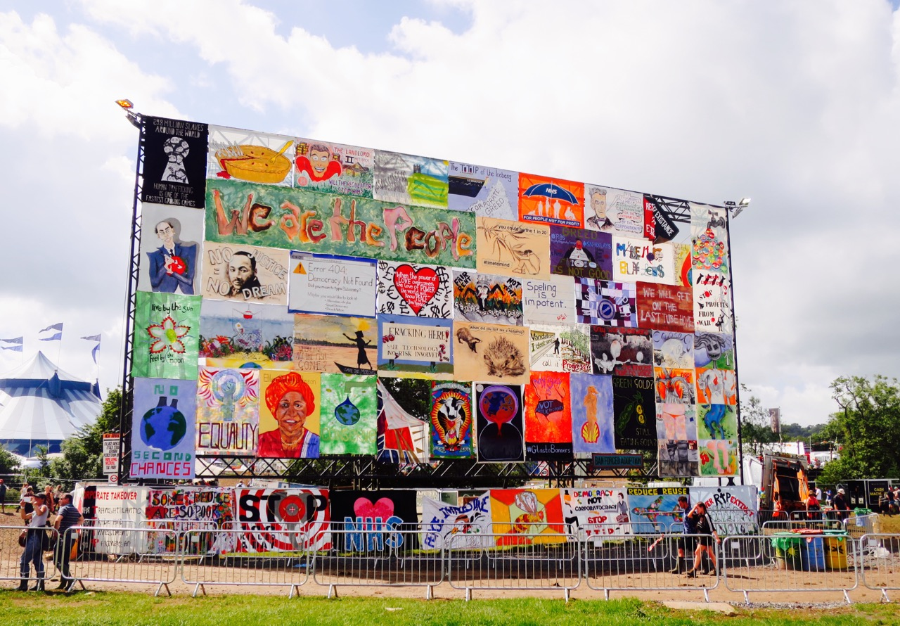 Glastonbury Poster Board