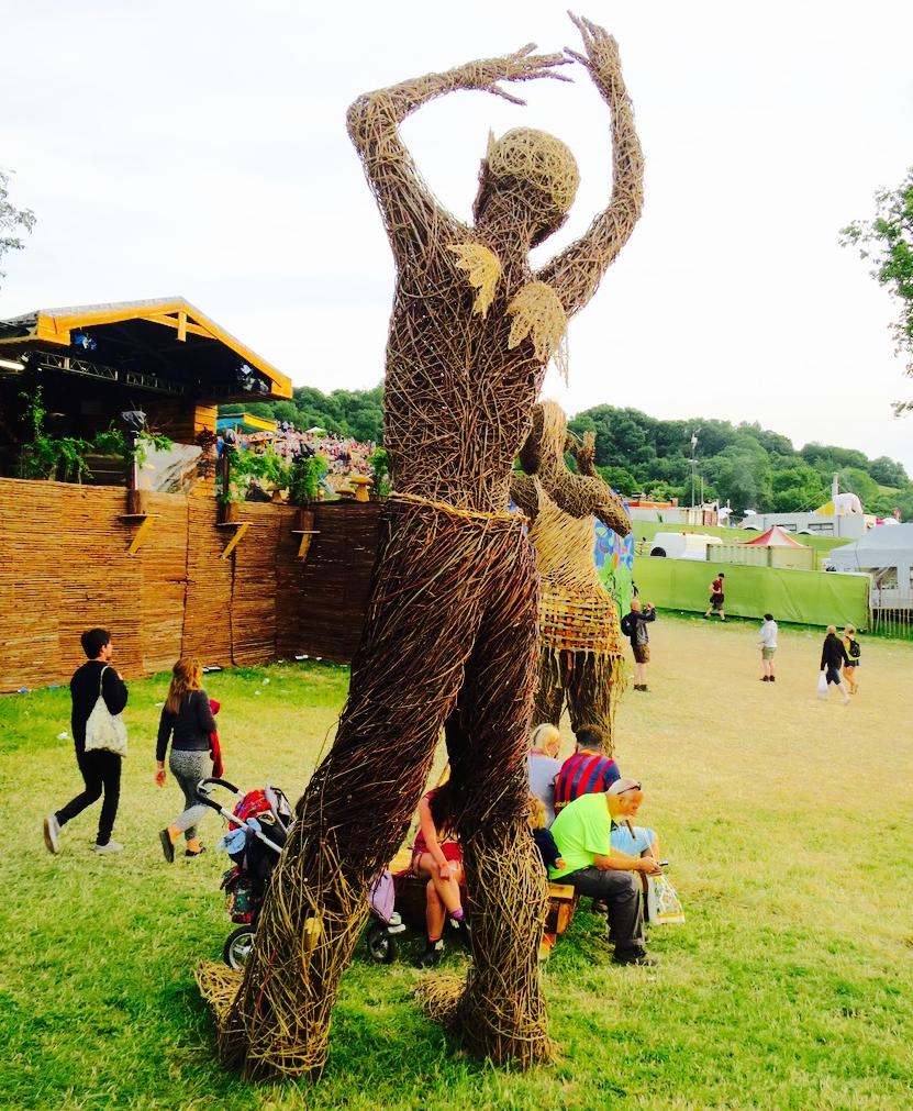 Glastonbury Festival Sculpture