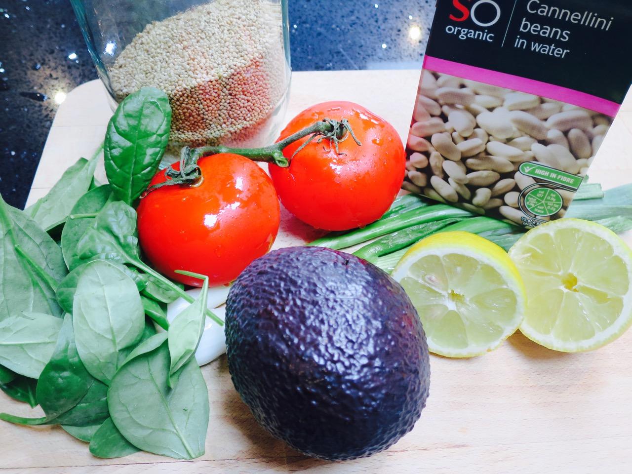 Healthy Hangover Salad