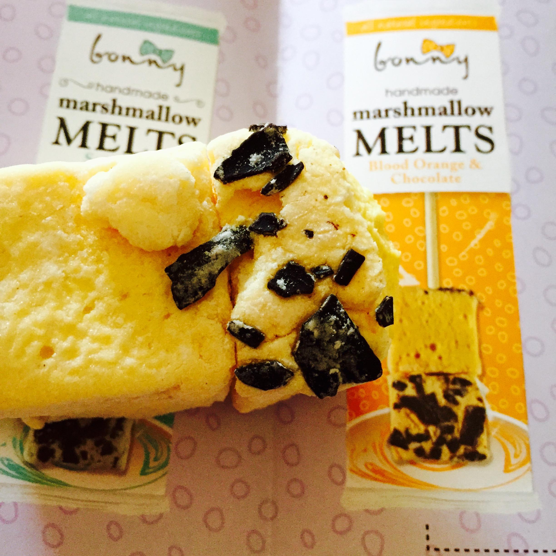 Bonny Handmade Marshmallow Dipper Blood Orange And Chocolate
