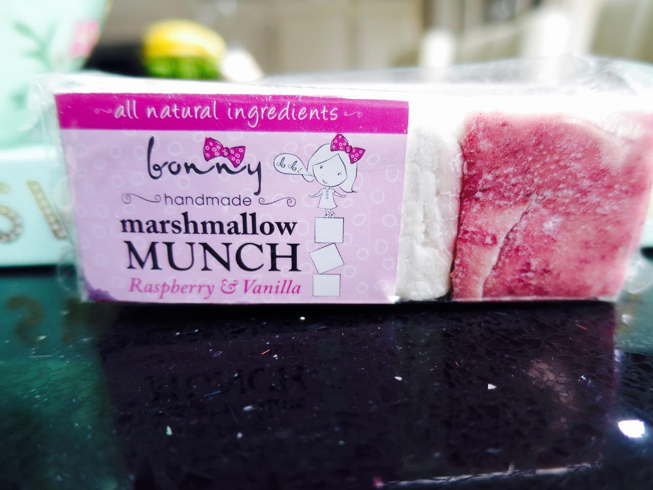 Bonny Marshmallows Mallowmunch Bar Raspberry And Vanilla
