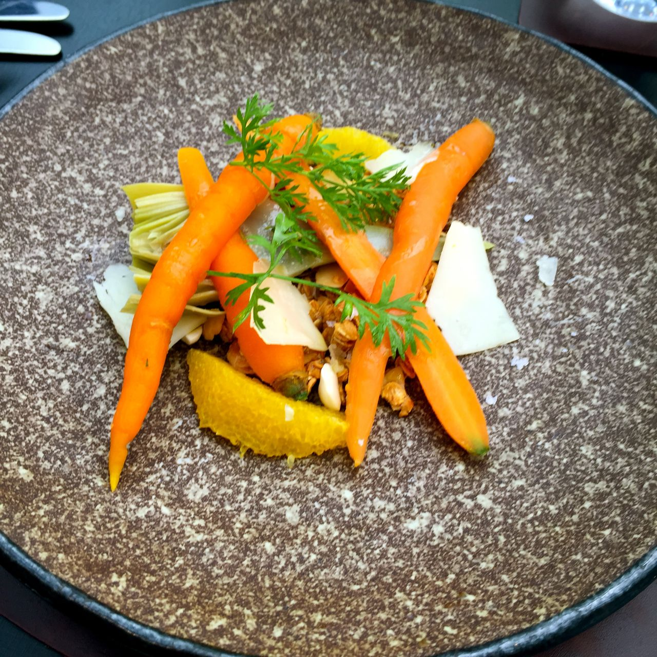 Carrot and Citrus Starter