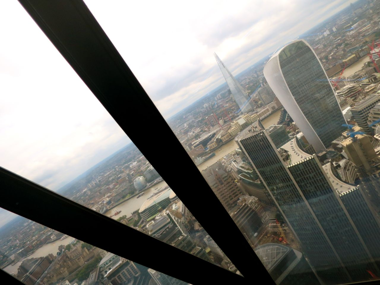 Shard and Walkie Talkie Building