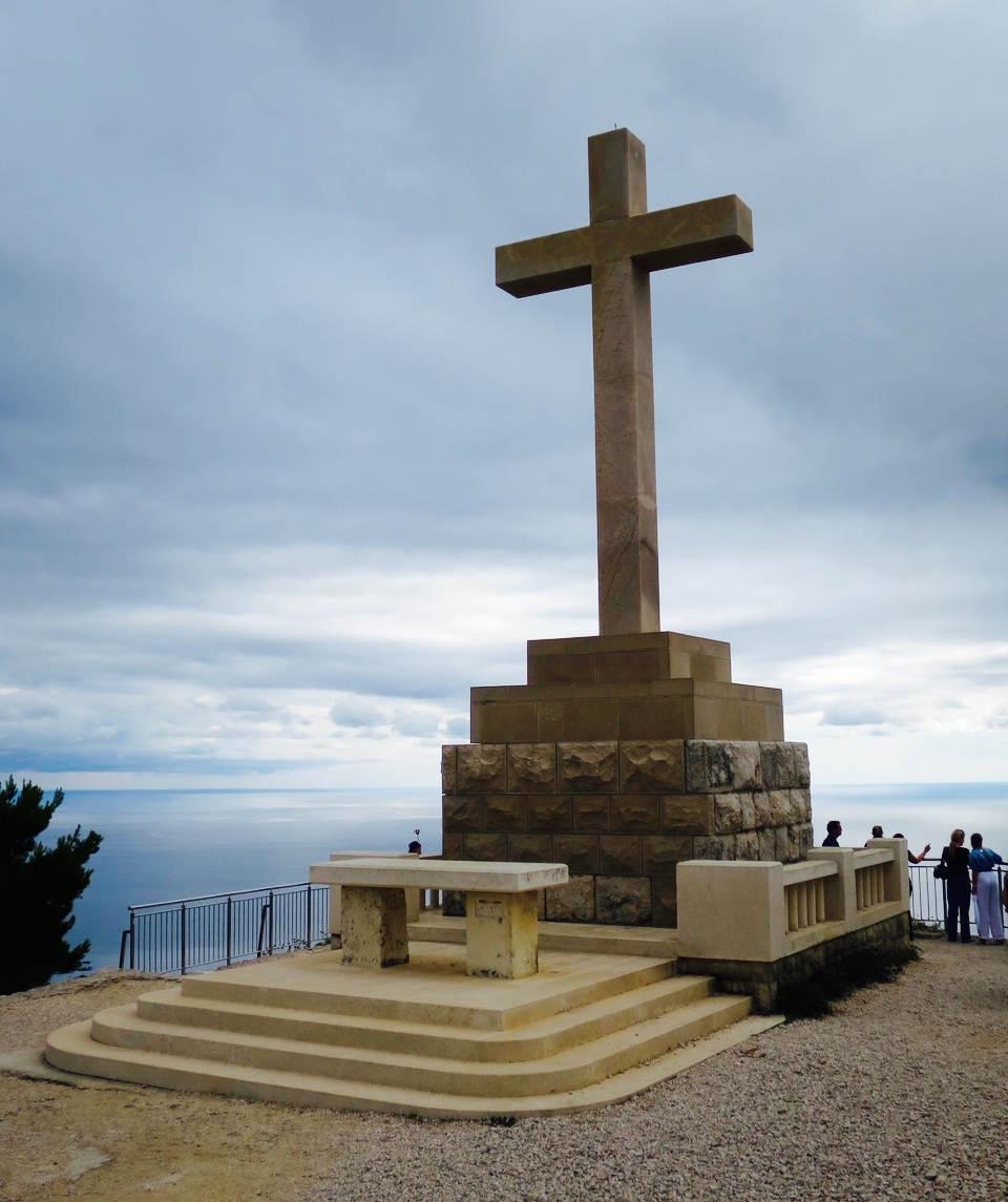 Dubrovnik Mount Srdj Cross