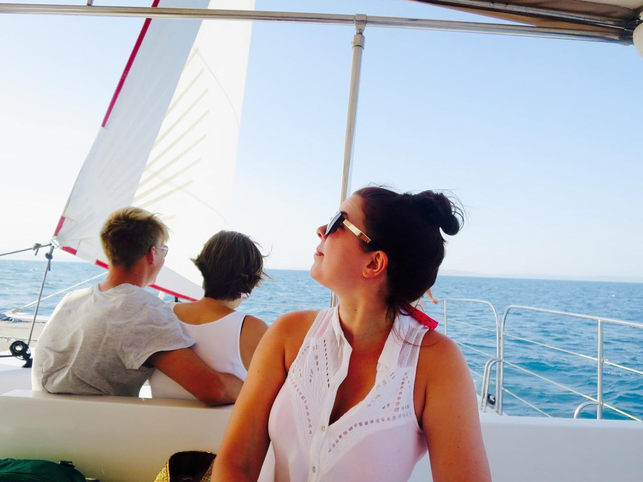 Summer Blues Catamaran