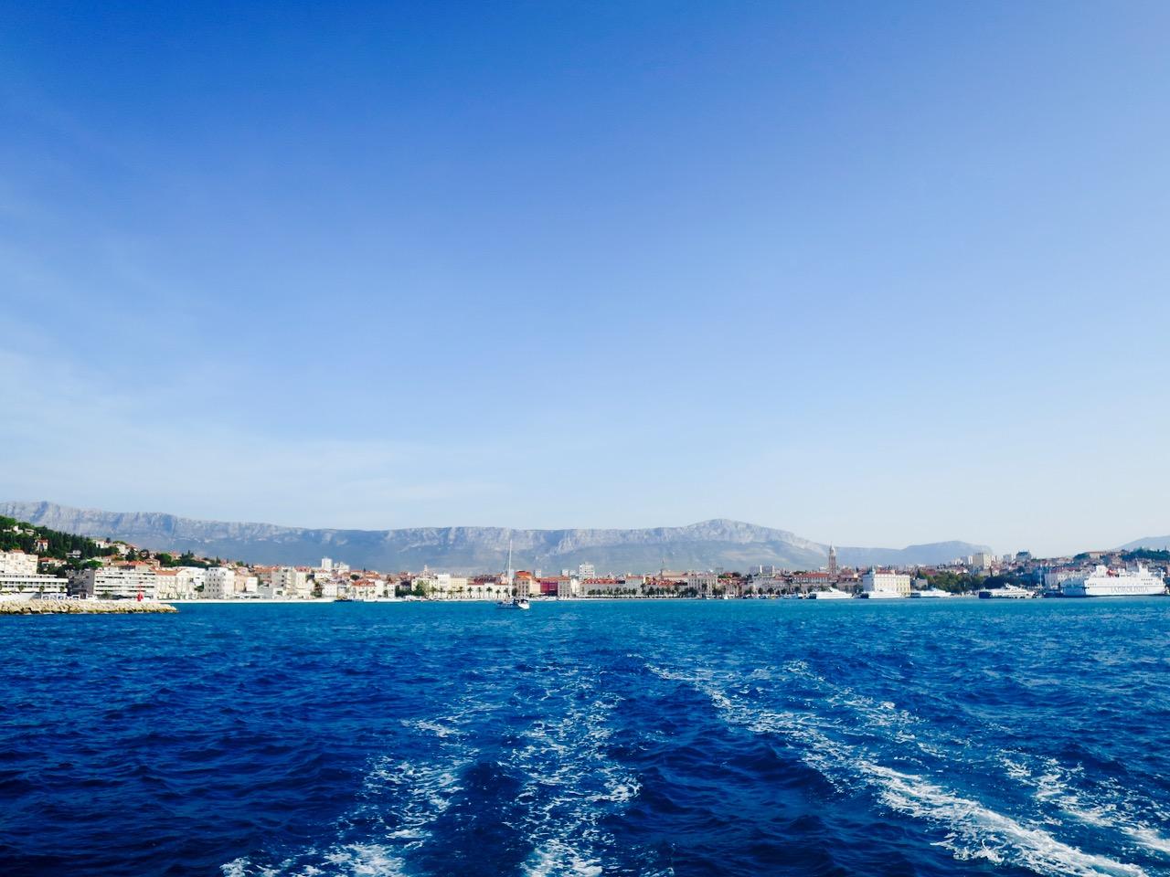 Summer Blues Catamaran Coast View