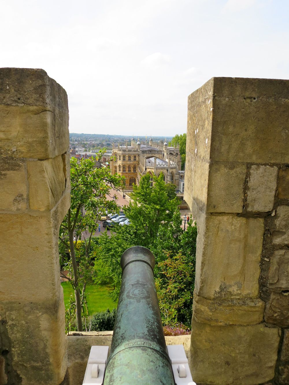 Conquering The Tower At Windsor Castle