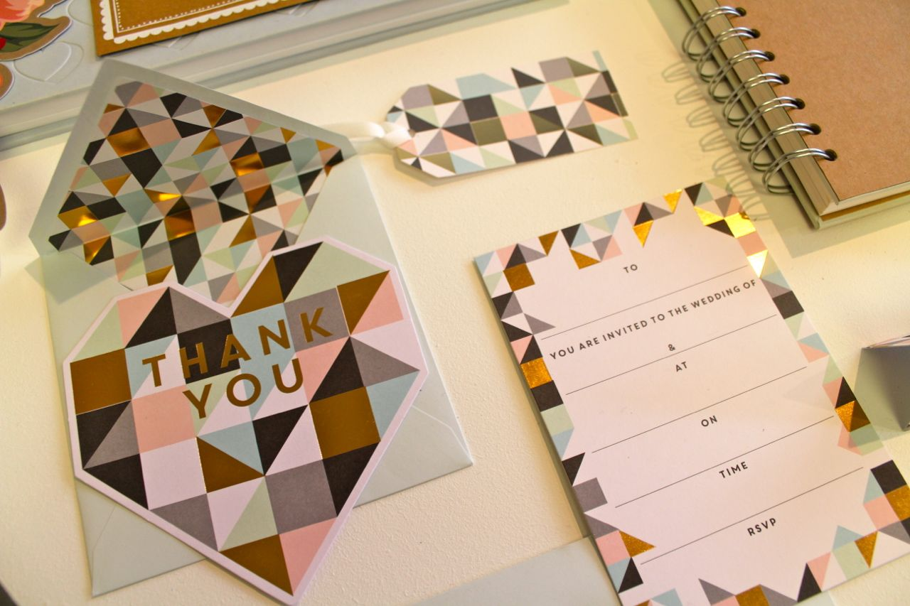 Paperchase SS16 Preview Wedding Stationery