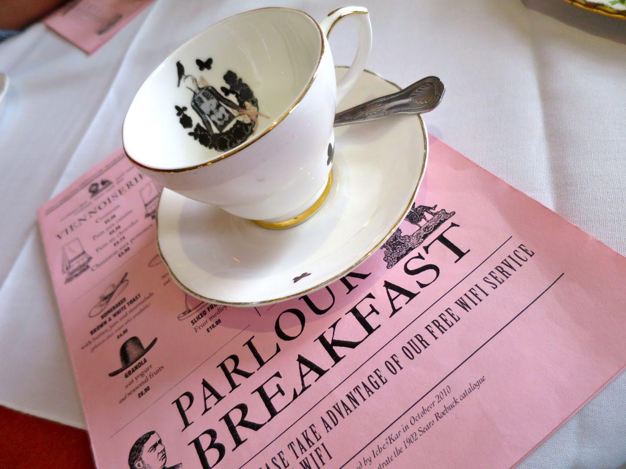 Breakfast At Sketch In Mayfair