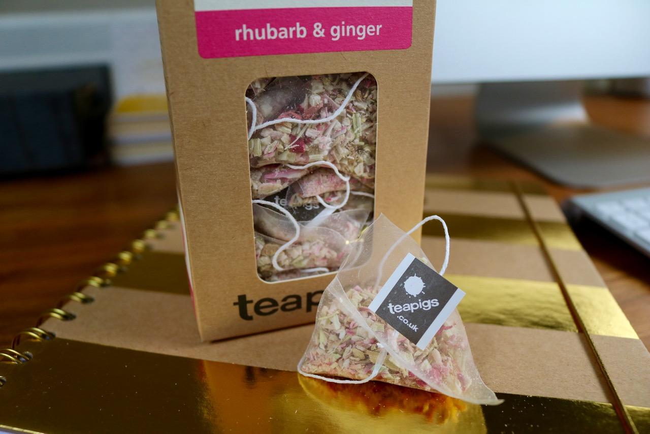 Teapigs Rhubarb & Ginger