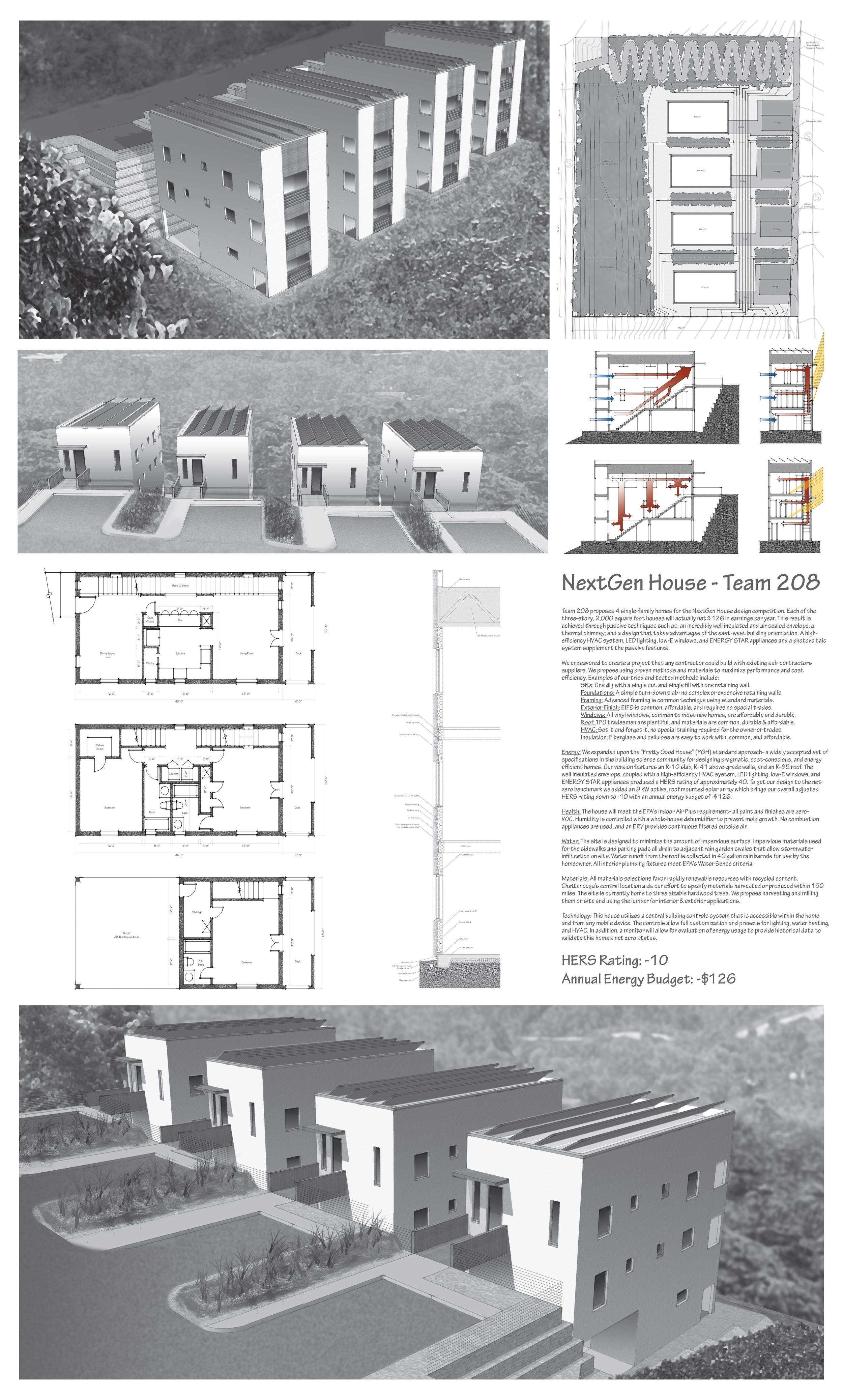 Studio C. Rushing: Christian Rushing; Elemi Architects: Eric Myers; EES Consulting: Chris Sarine