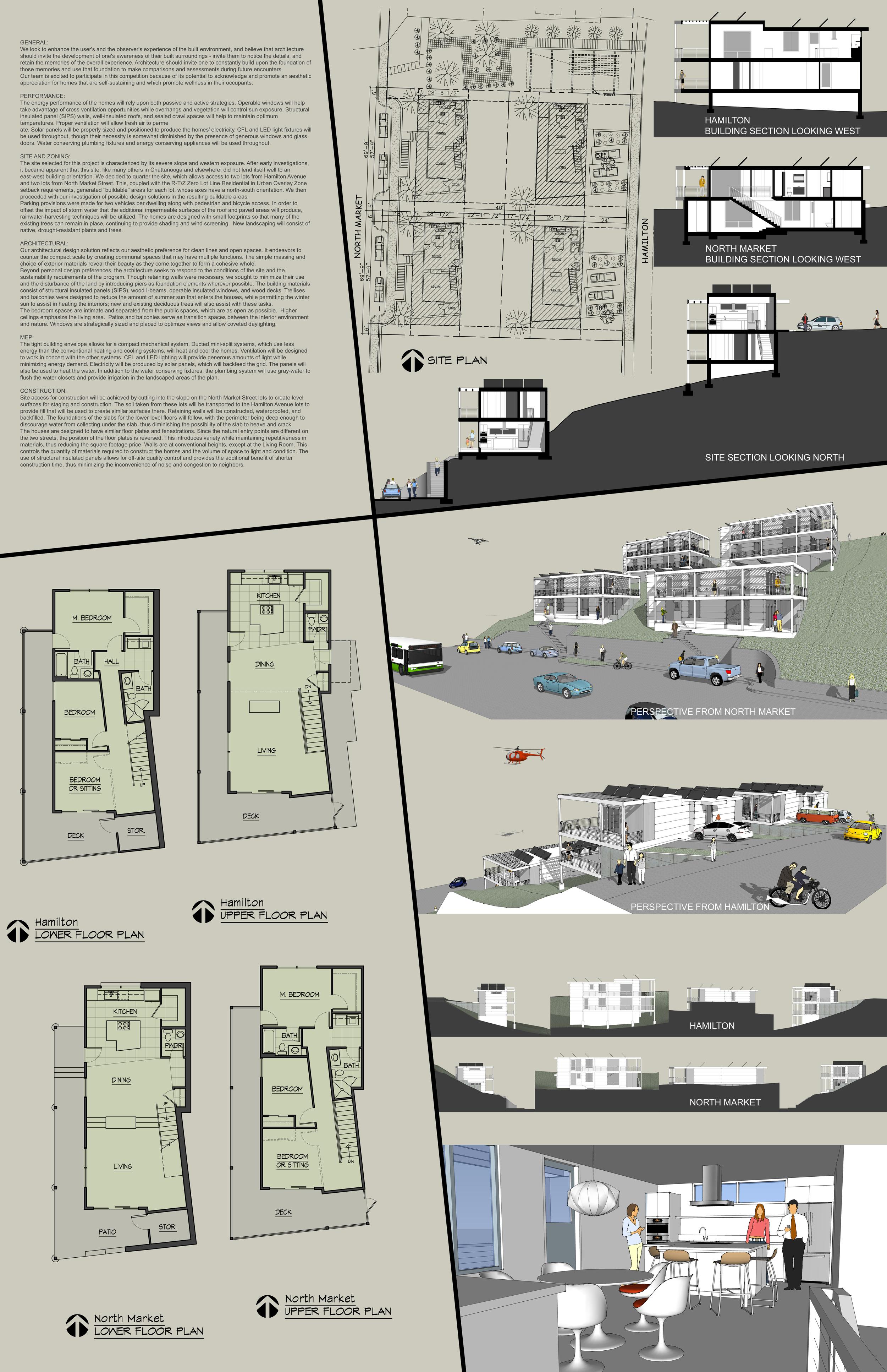 Mar-7 Architecture: Eldred Fletcher; Bird & Kamback Architects: Darryl Bird; Total Design: Steven Clanton; Lavish Building & Design: Jared Chastain