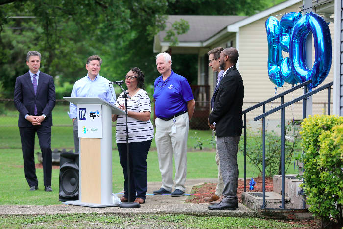 Over $2.2 Million raised through partnership with EPB and City of Chattanooga for 350 Home Energy Upgrades for limited-income residents!
