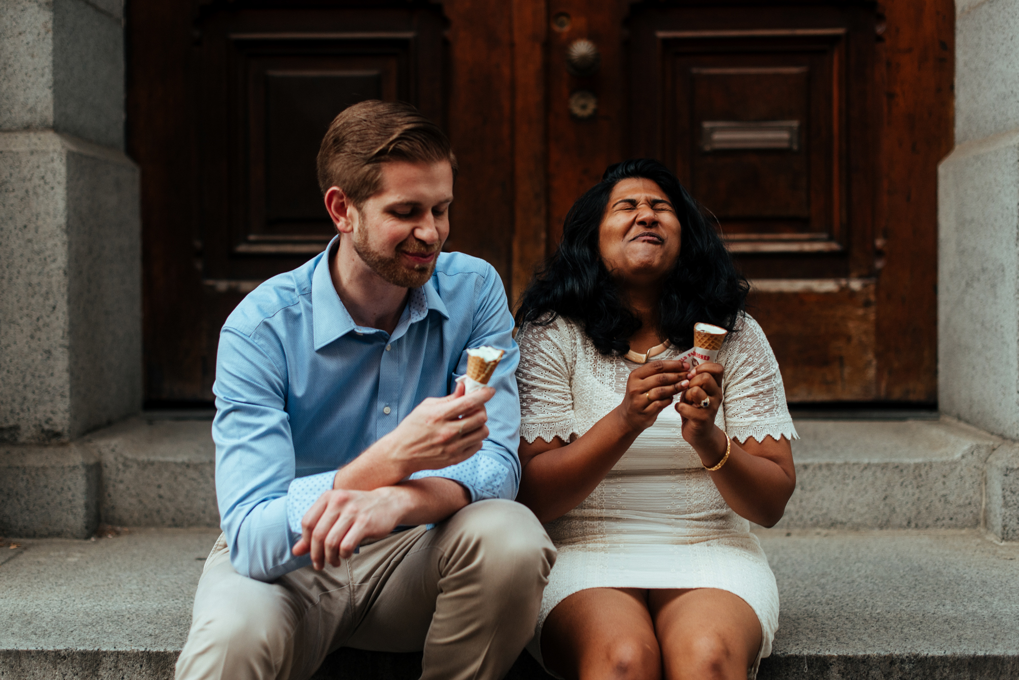 Summer Engagement Session in Old City, Philadelphia