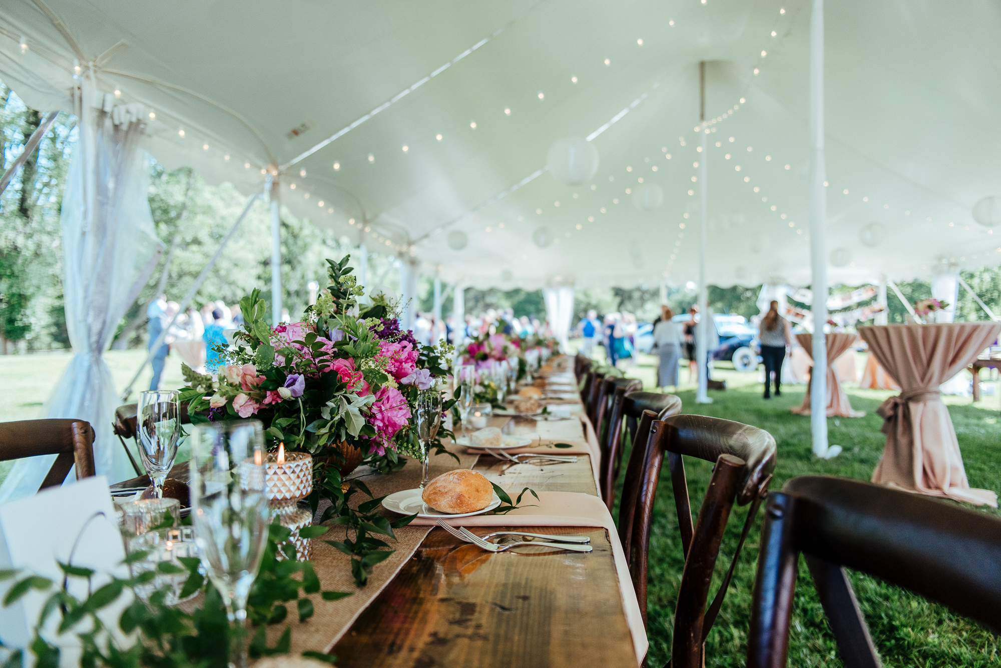 Intimate Summer Farm Wedding in West Chester Pennsylvania