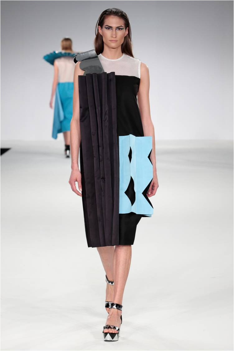 Lavinia Cadar - Commedia dell'Arte AW1516 cubist installation dress.jpg