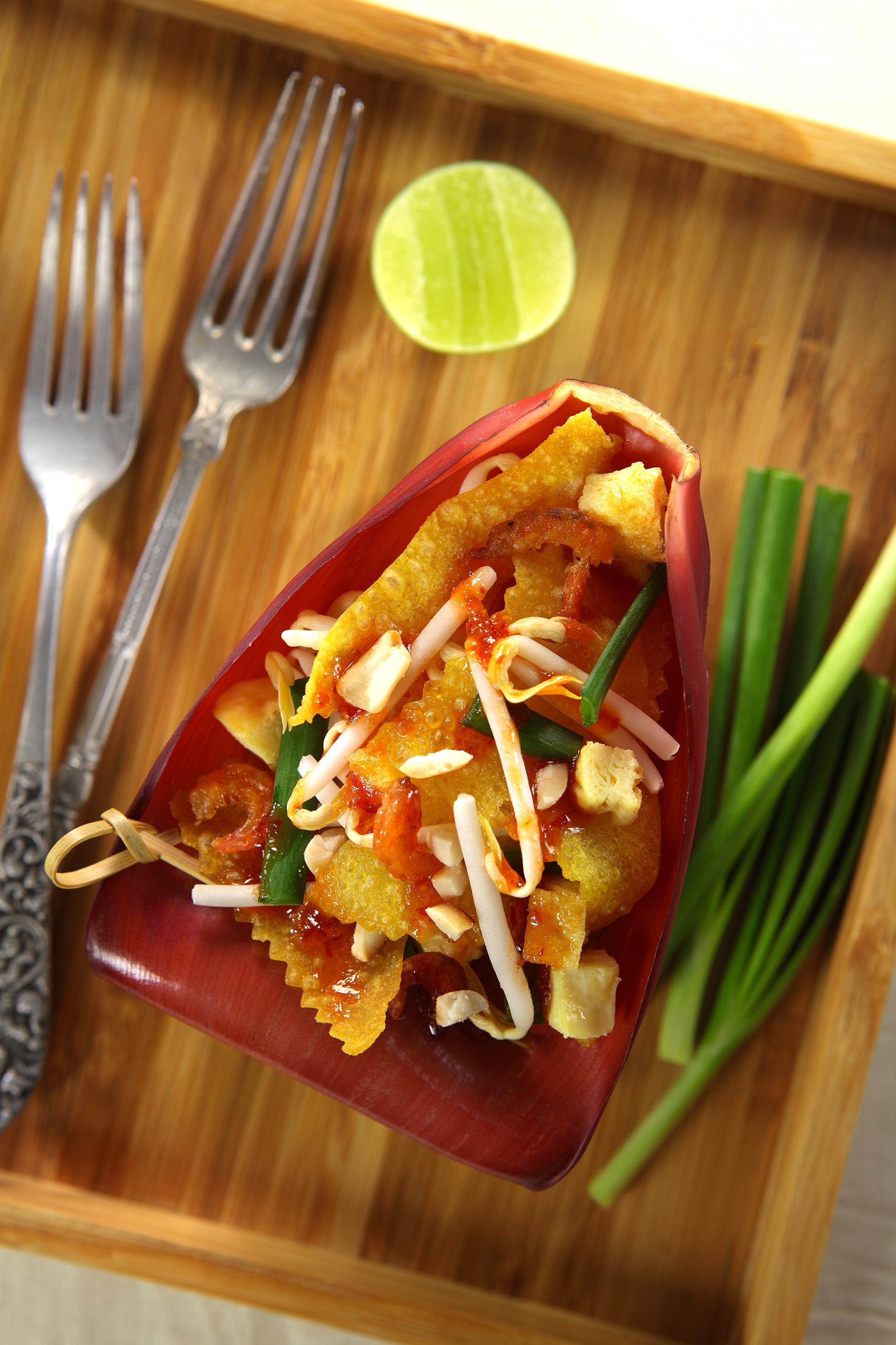 Crispy Wonton Pad Thai