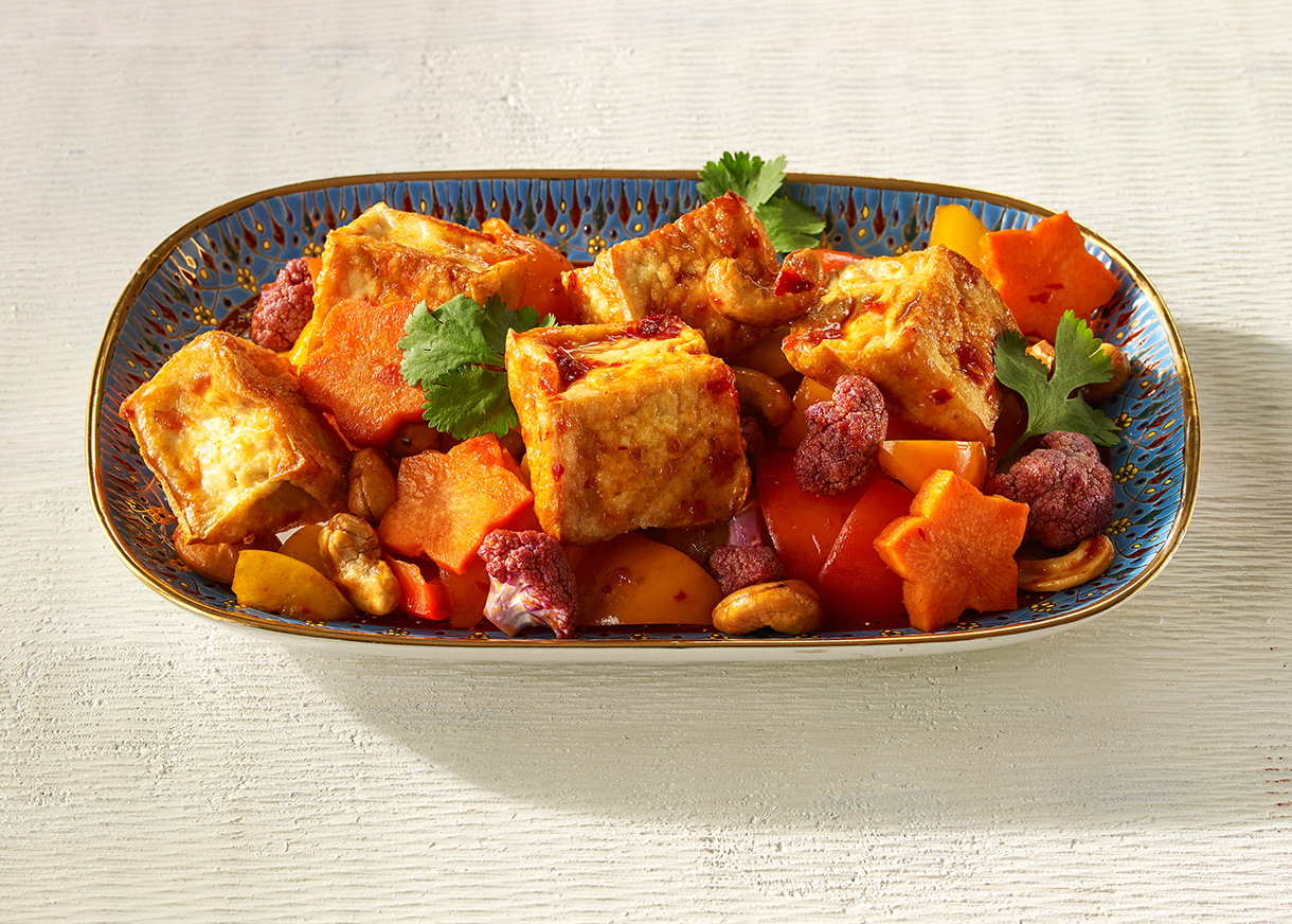 Stir Fried Vegetables with Tofu