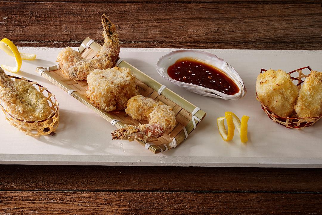 Air Fried Maine Seafood