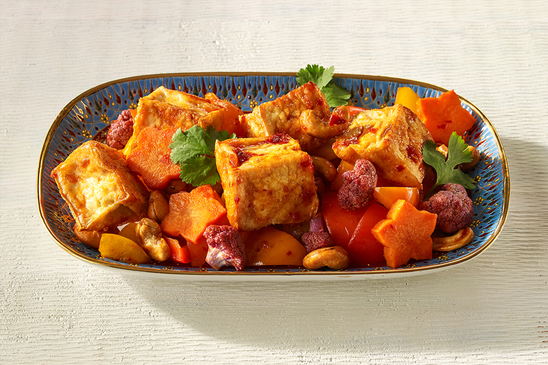 Stir Fried Vegetables with Tofu