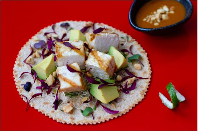 Grilled Swordfish Tacos