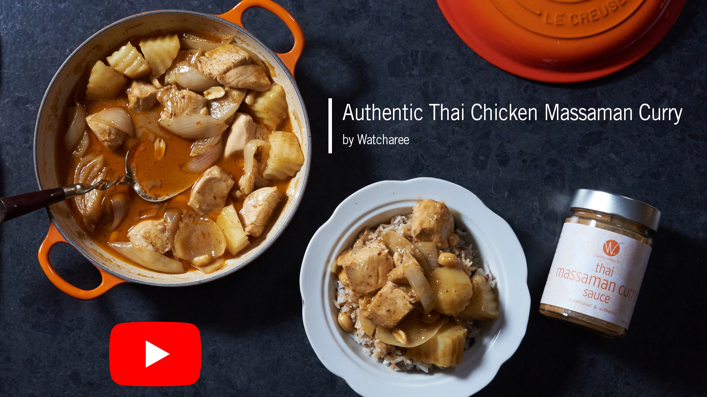 Authentic Thai Chicken Massaman Curry (video)