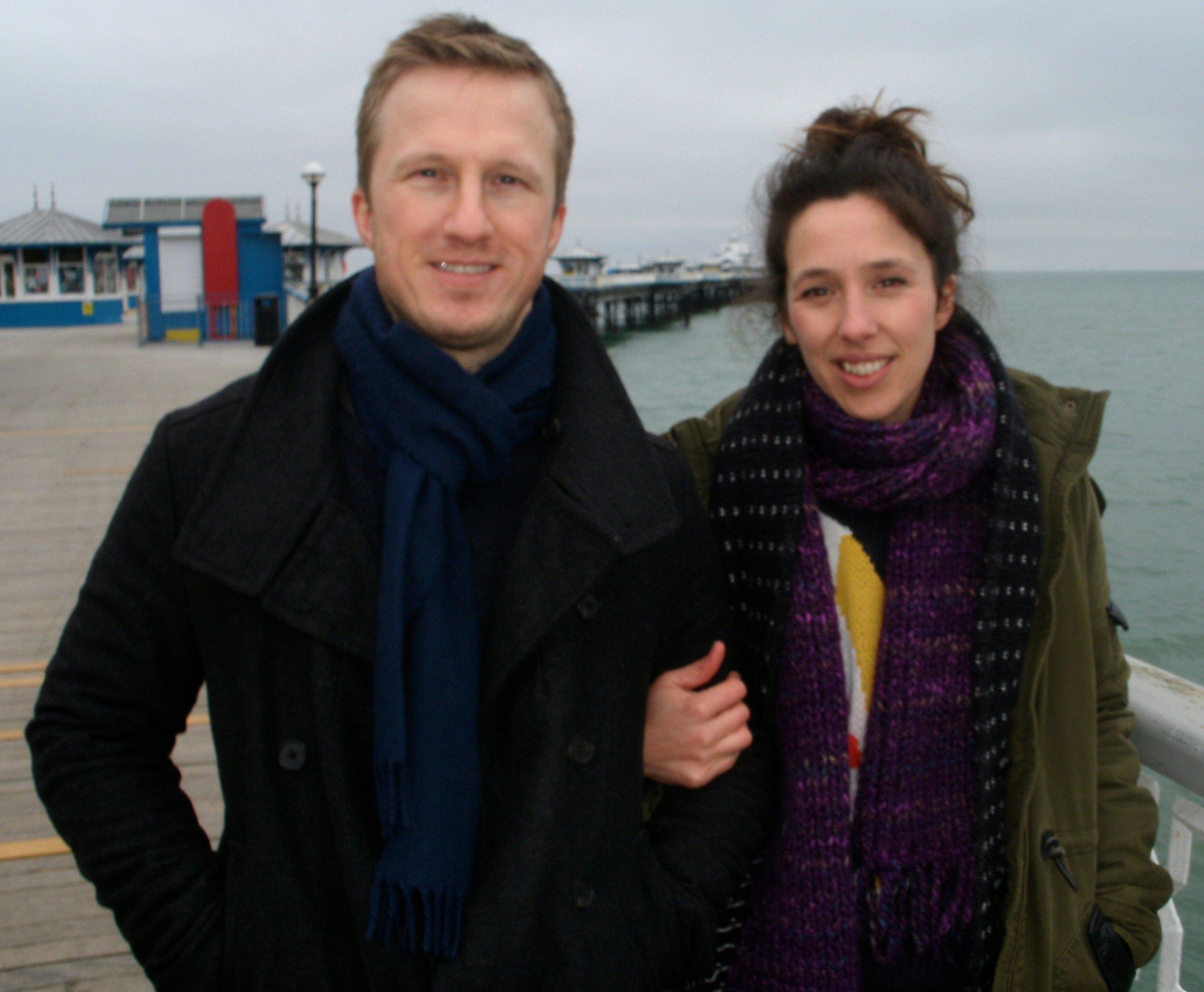 Cai O'Leary and Lisa Jen Brown