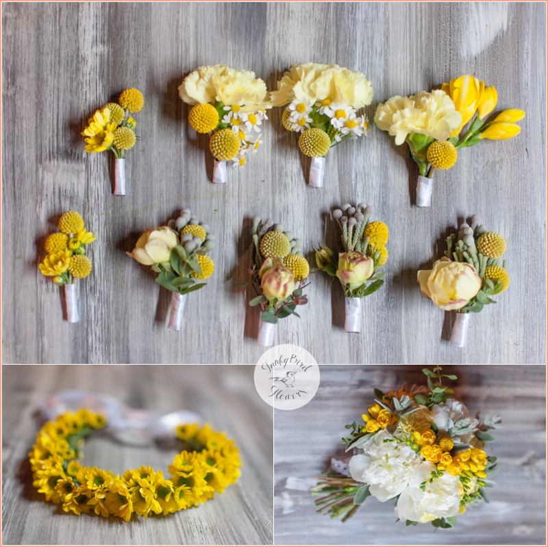 FunkyBird wedding flowers in Tuscany 1